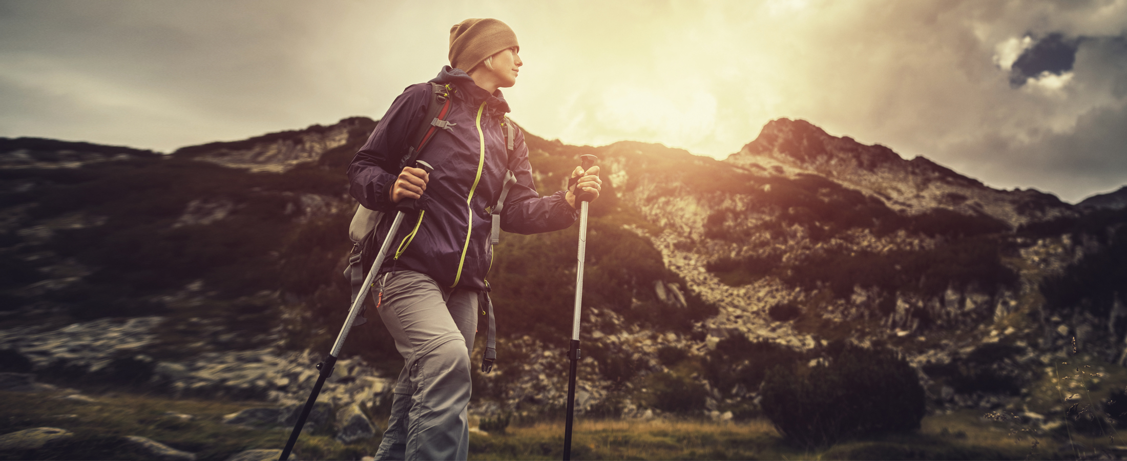 Trekking Poles and Body Structure